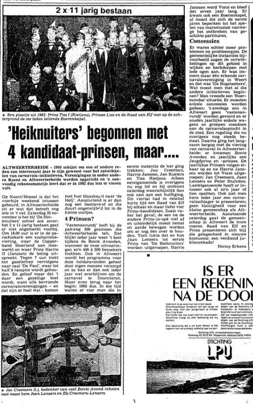 Land van Weert van 7 november 1982